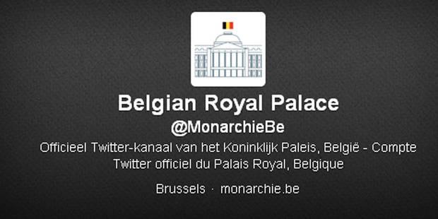 Le compte Twitter de la famille royale piraté par un journaliste néerlandais - La DH