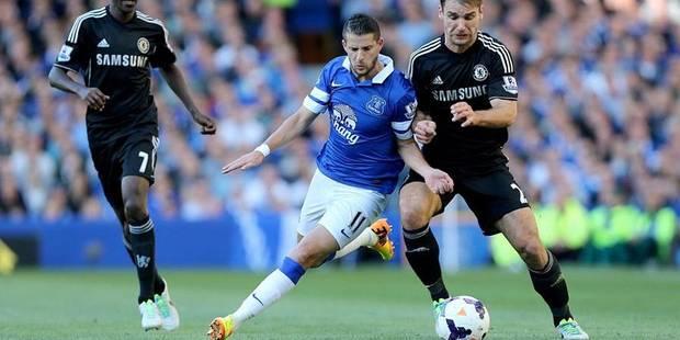 Kevin Mirallas et Romelu Lukaku associés en pointe à Everton ? - La DH