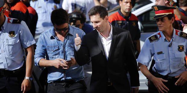 Messi entendu plus de deux heures par la justice - La DH