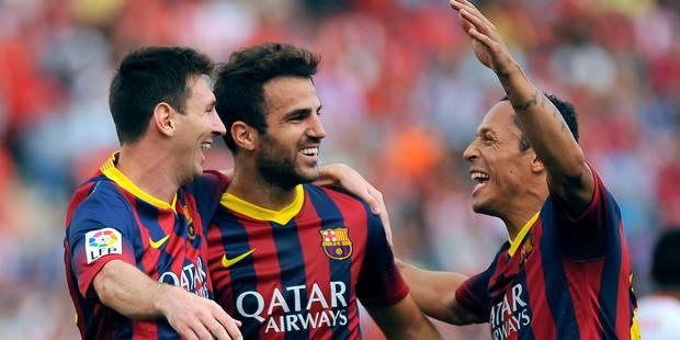 Début record du Barça, qui perd Messi à Almeria - La DH
