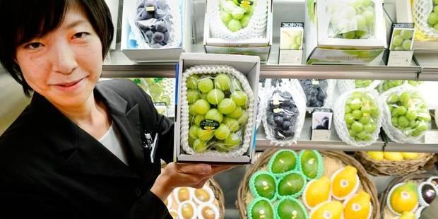 Acheter des fruits de luxe à Tokyo: une grappe de raisin pour 3.000 euros! - La DH