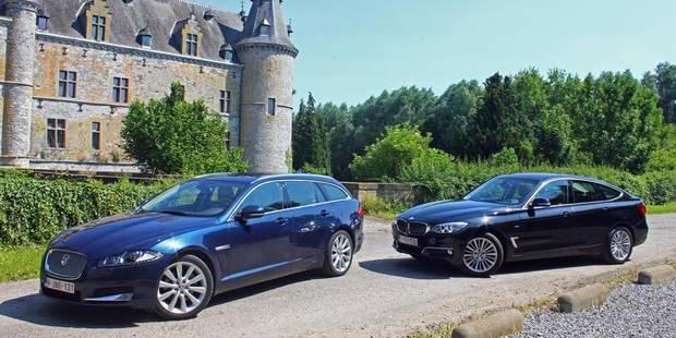 Le match de la semaine BMW 320D Gran Turismo vs Jaguar XF Sportbrake - La DH