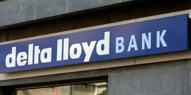 Delta Lloyd veut vendre ses activit�s bancaires en Belgique