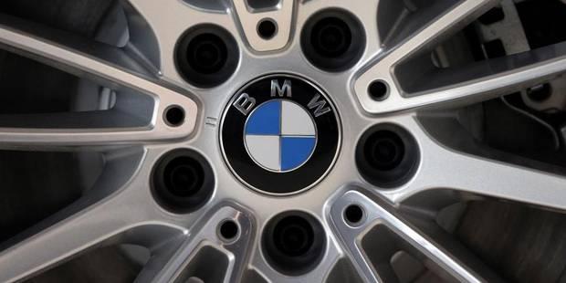 BMW rappelle 560 autos en Belgique et au Luxembourg - La DH