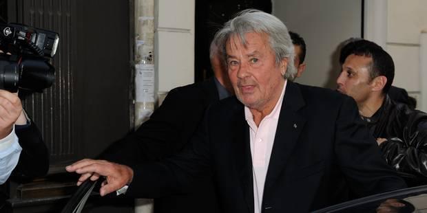 Alain Delon heureux de la place importante du FN - La DH