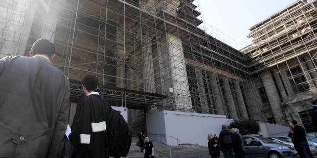 La sécurité du palais de justice de Bruxelles abandonnée aux policiers - La DH