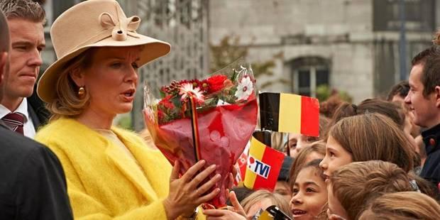 Mathilde à Liège: un site américain se moque de sa tenue - La DH