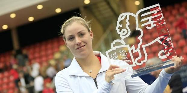 Angelique Kerber remporte le 3e tournoi de sa carrière à Linz - La DH