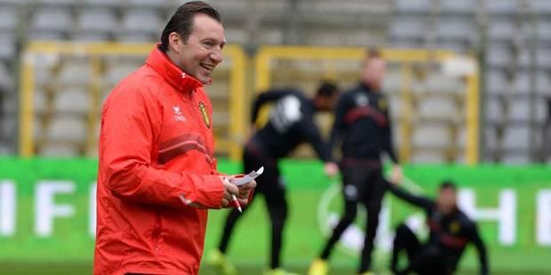 """Wilmots: """"Je suis content que Bale soit absent"""" - La DH"""