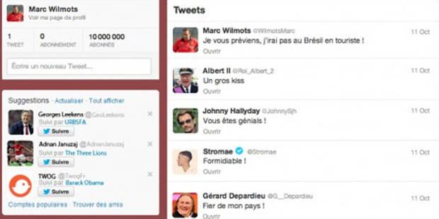 Quand Albert II, De Wever et Jonathan Legaer réagissent sur le Twitter de Wilmots - La DH