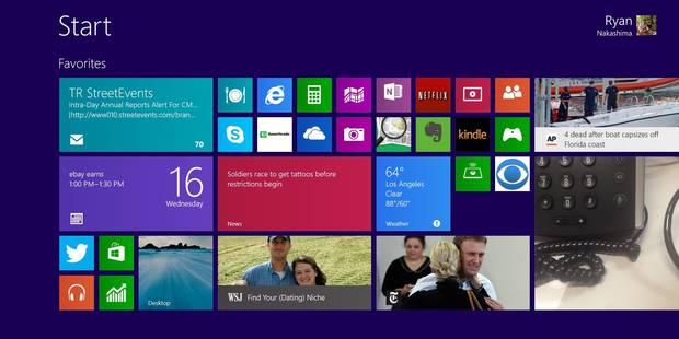 Microsoft sort une mise à jour de Windows 8 - La DH