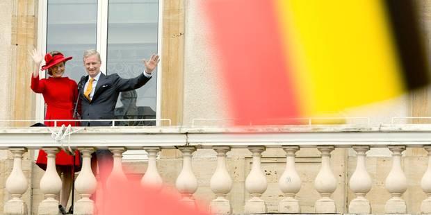5.000 personnes à Arlon pour acclamer le couple royal - La DH