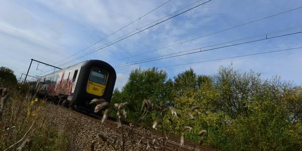 La circulation ferroviaire interrompue sur la ligne Bruxelles-Liège - La DH