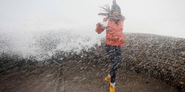 Tempête sur la Belgique: le gros de la tempête est passé - La DH