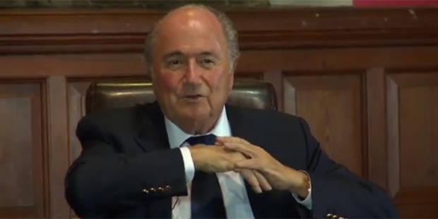 Blatter se moque de Ronaldo, CR7 lui répond! - La DH