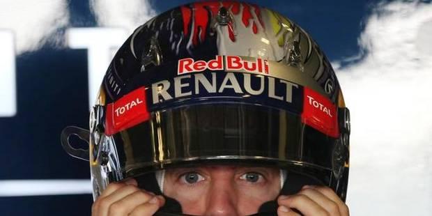 Vettel étrenne un casque spécial à Abou Dhabi - La DH