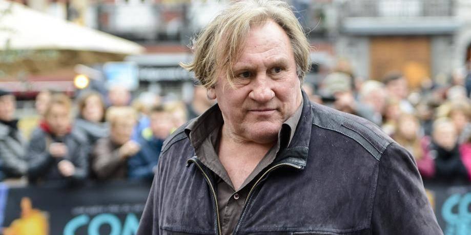 Depardieu s'affiche au rallye du Condroz