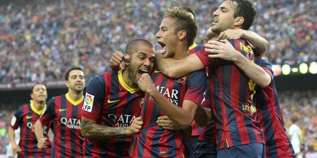Le Barça se sort du piège dans le derby catalan - La DH