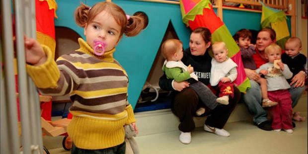 Plus de 3.600 places en crèches créées en fédération Wallonie-Bruxelles - La DH