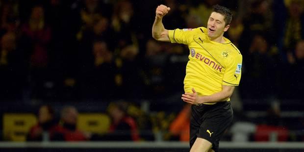 Lewandowski confirme son départ de Dortmund en fin de saison - La DH