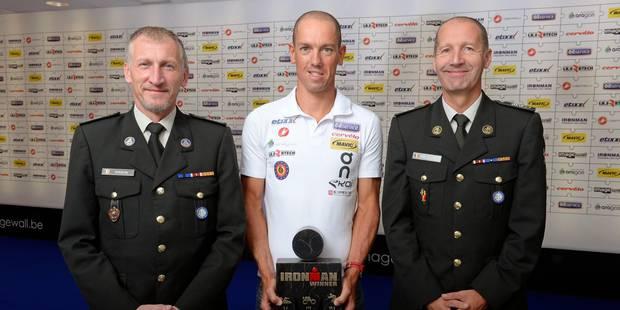 Frederik Van Lierde lauréat du Trophée National du Mérite Sportif 2013 - La DH