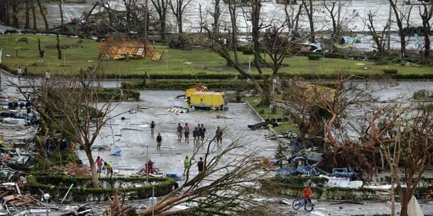 Typhon aux Philippines : 1.200 morts selon une estimation, pas d'information sur des victimes belges