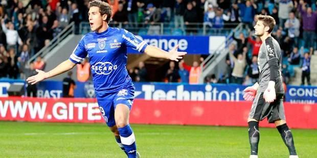 Belges à l'étranger: Bruno offre la victoire à Bastia