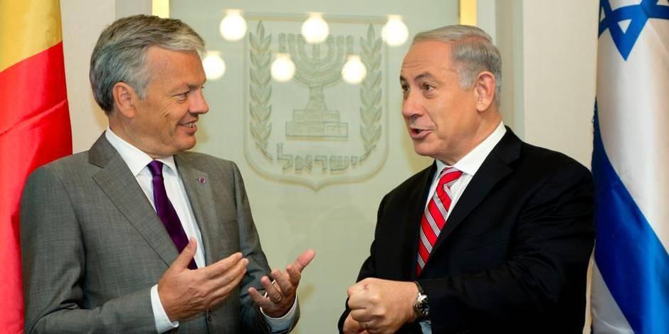 Reynders obtient un accord pour renforcer les relations belgo-israéliennes