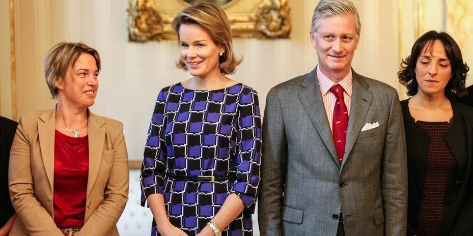 Philippe et Mathilde saluent la coopération des communautés flamande et française