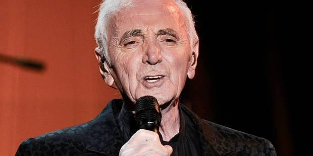 Aznavour: ses amis politiques lui ont évité des emmerdes avec le fisc - La DH