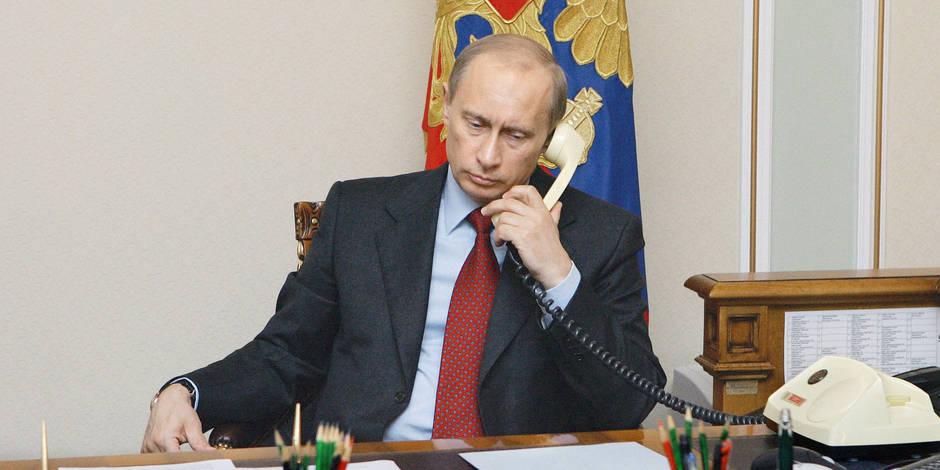 Quand Poutine passe un coup de fil à Assad