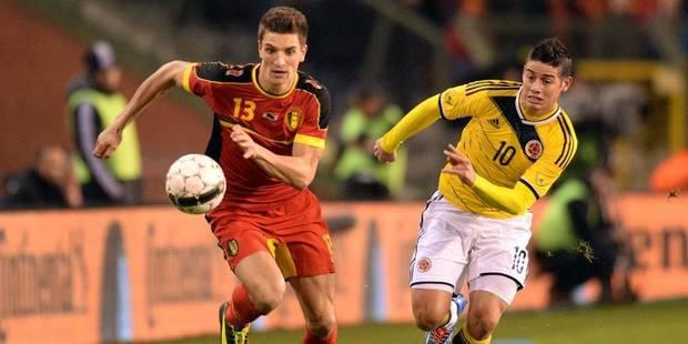 Thomas Meunier titulaire contre la Colombie - La DH