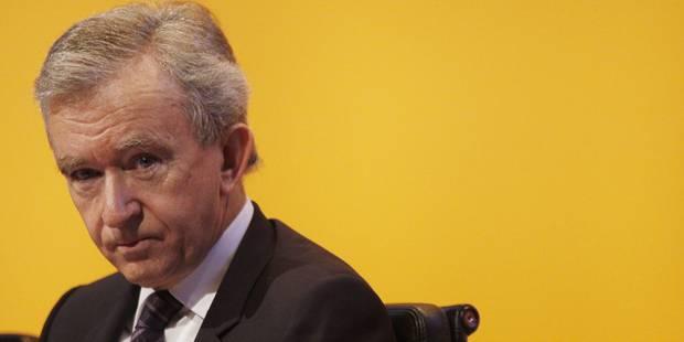 Bernard Arnault dans le collimateur de la Justice belge - La DH