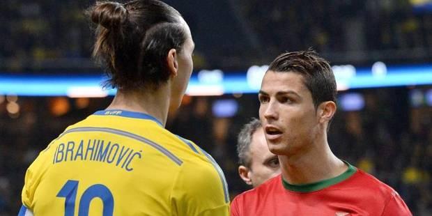 Les buts de Ronaldo vus par Ibrahimovic et vice versa - La DH