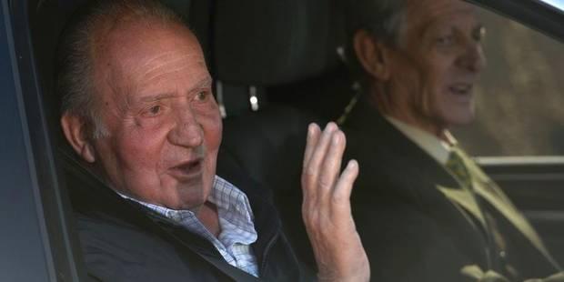 Le roi d'Espagne sort de l'hôpital - La DH