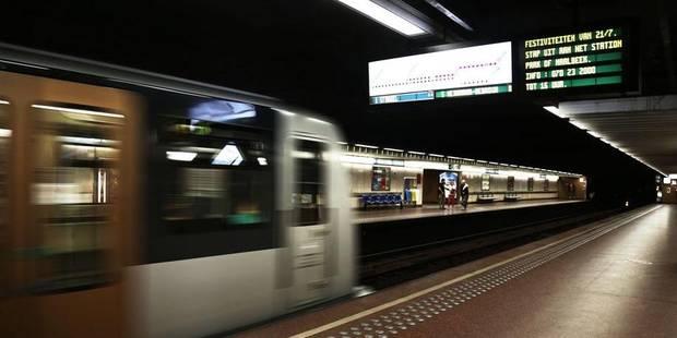 Une femme percutée par un métro à la station Ribaucourt - La DH
