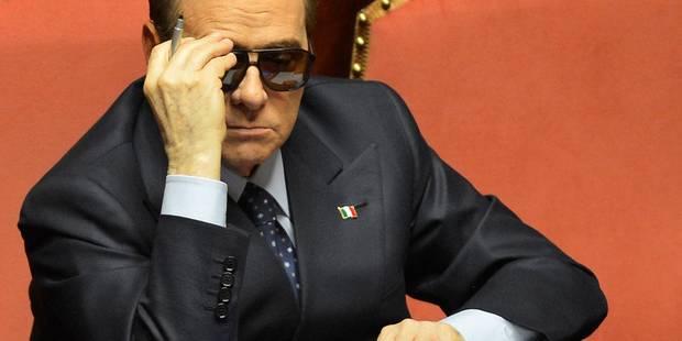 """Silvio Berlusconi, déchu de son poste de sénateur: """"un jour de deuil"""" - La DH"""