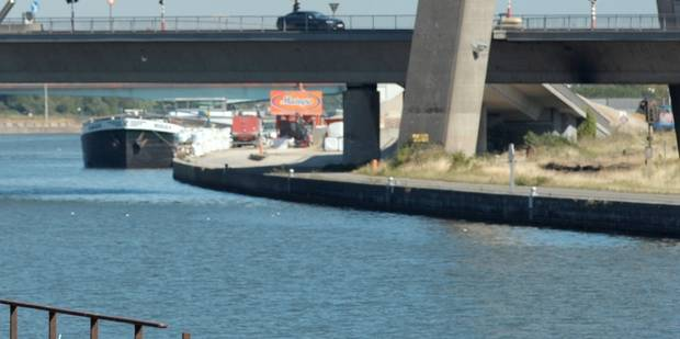 Pollution au mazout de plusieurs kilomètres sur le Canal Albert - La DH