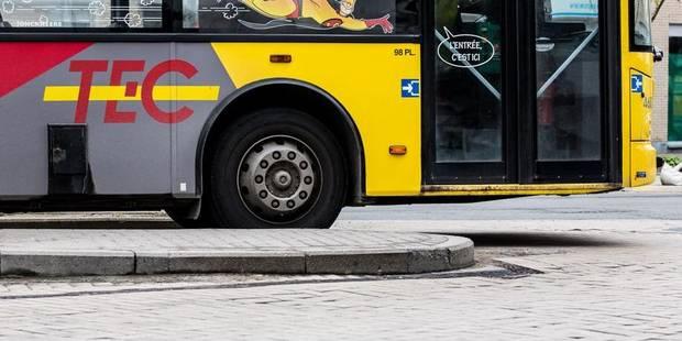 Un chauffeur de bus poignardé au visage à Verviers - La DH