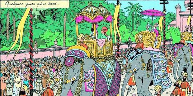 Tintin et les mystères de l'Orient - La DH