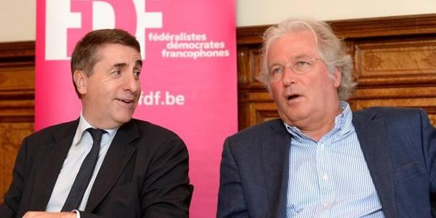 Maingain et Gosuin têtes de listes FDF à Bruxelles au mois de mai - La DH
