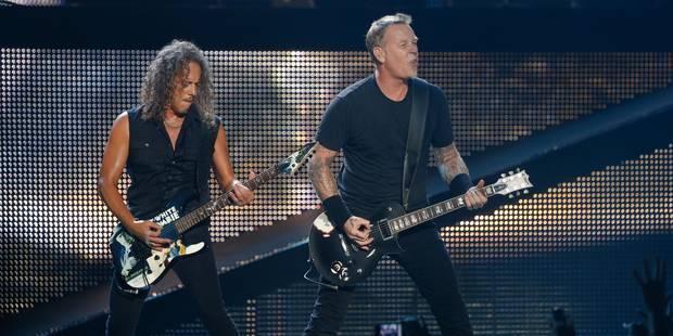 Metallica sera à Rock Werchter en 2014