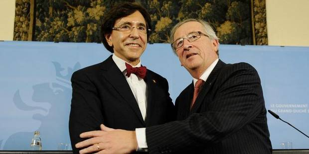 "Di Rupo à Juncker: ""Tu es un des plus grands acteurs européens"" - La DH"
