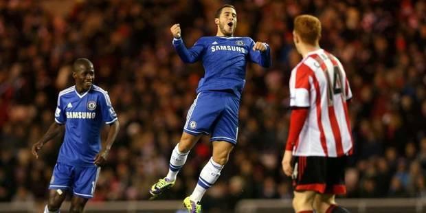 Doublé et passe décisive pour Hazard contre Sunderland - La DH