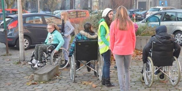 180 élèves sensibilisés au handicap - La DH