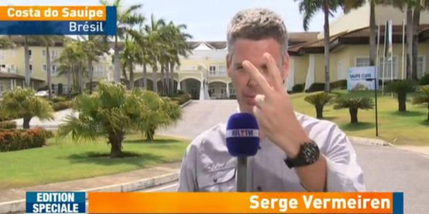 La bourde de RTL lors du faux direct de Serge Vermeiren