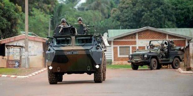 1.600 soldats français en Centrafrique samedi soir