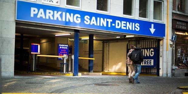 Liège saigne le parking privé - La DH