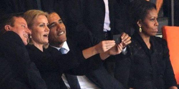 """""""Selfie"""" d'Obama: Michelle serait-elle jalouse? - La DH"""