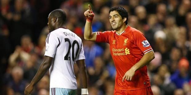 La Premier League revient sur un but et l'attribue à Suarez - La DH